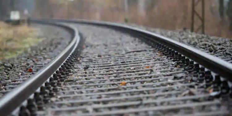 Railway line in Tibet