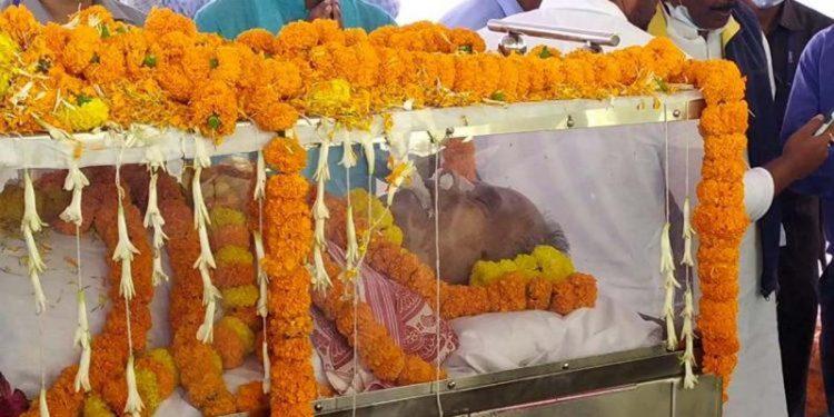 Tarun Gogoi mortal remains