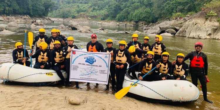 Rafting in Arunachal Pradesh