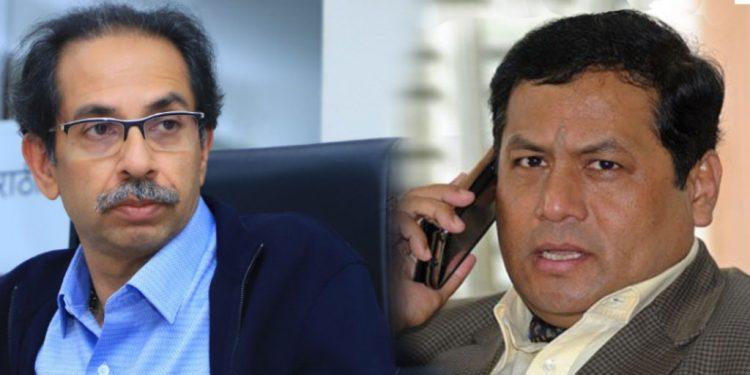 Sarbananda Sonowal requests Uddhav Thackeray