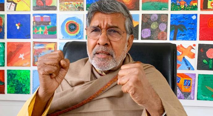 Nobel Peace Laureate and BBA founder Kailash Satyarthi.
