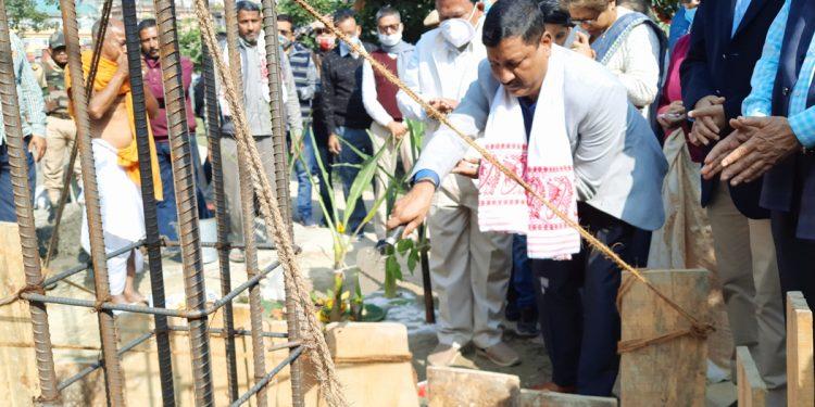 Assam: Foundation stone for statue of Koch king Dharma Narayan laid in Mangaldoi 1