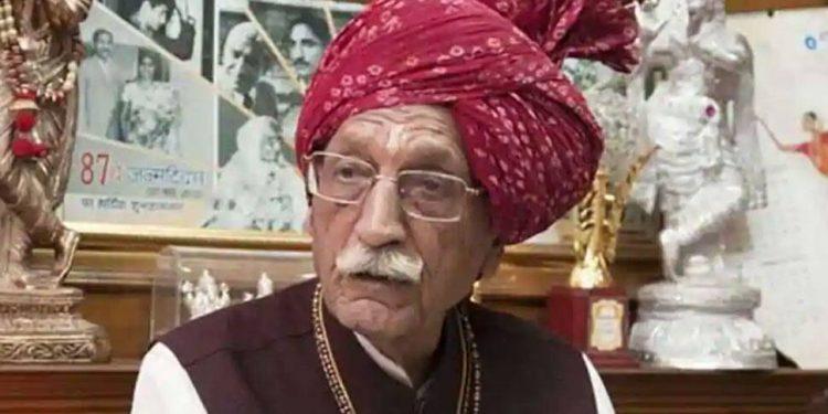 MDH Masala brand owner 'Mahashay' Dharampal Gulati.
