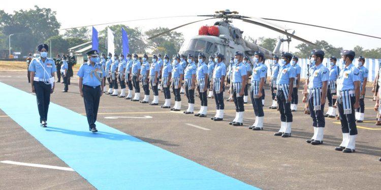 AOC-in-C of EAC Air Marshal Amit Dev