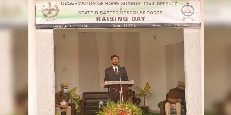 Nagaland SDRF Raising Day
