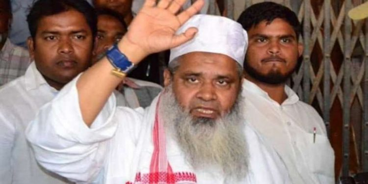 AIUDF chief and Lok Sabha MP Badruddin Ajmal.