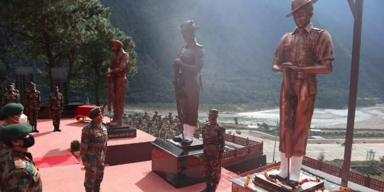 Arunachal: Army unveils statues of 1962 India-China war heroes at Kibithu 1