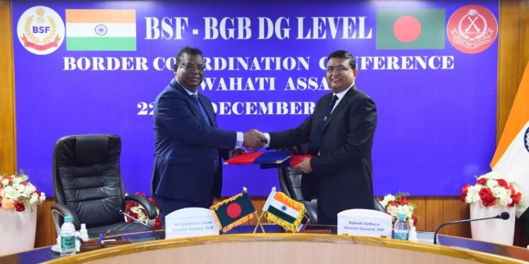 BSF chief Rakesh Asthana is leading the 12-member Indian delegation while the 11-member BGB team is headed by Major General Shafeenul Islam.