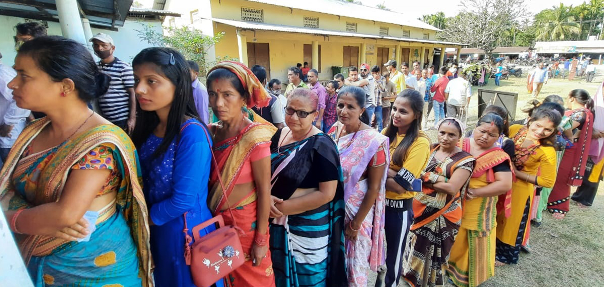 Phase 1 of Bodo Territorial Council polls: 75% voters turnout in Udalguri, 78% in Baksa 1