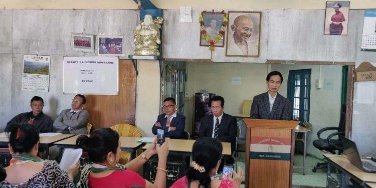 Chakma District Congress website launch