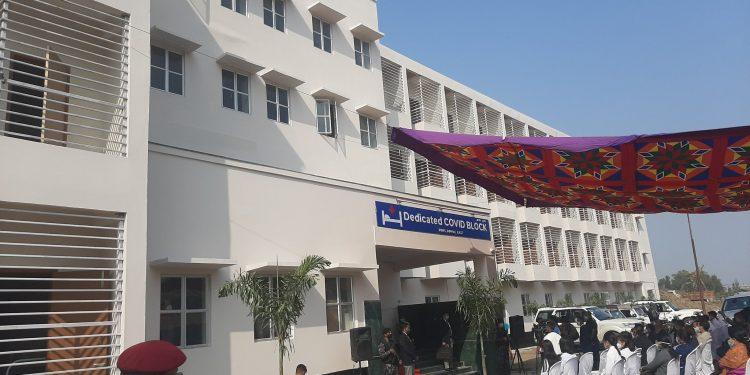 Manipur CM N Biren Singh launches 100-bed Covid block at JNIMS in Imphal 1