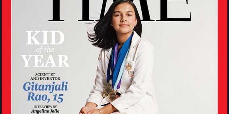 Indian-American Gijanjali Rao named TIME's 'Kid of the year' 1