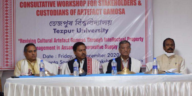 Workshop on Gamosa by Tezpur University