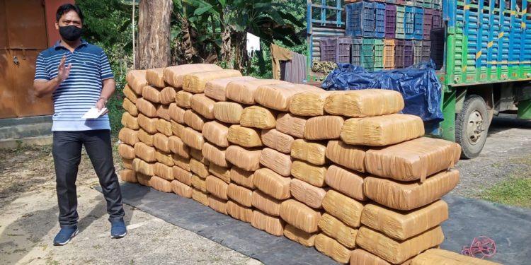 Tripura: Police seizes ganja worth Rs 1 crore 1