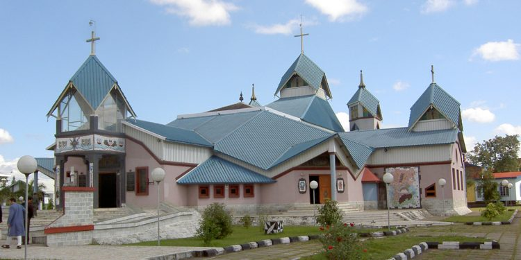 St Joseph's Cathedral in Imphal.