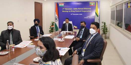India and Myanmar have decided to exchange intelligence input in a timely manner.