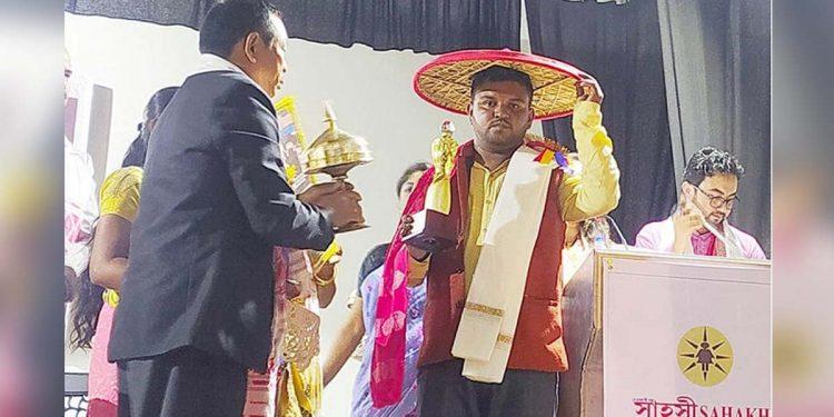 Northeast Now reporter Kalpajyoti Saikia