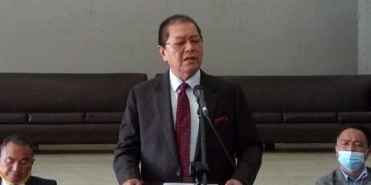 Former Mizoram Chief Minister Lal Thanhawla.