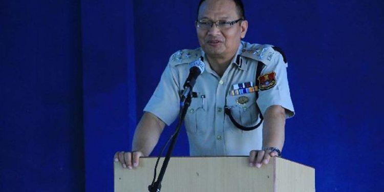 Mizoram deputy inspector general of police (northern range), Lalbiakthanga Khiangte.