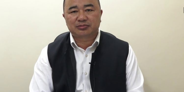 Mizoram Education Minister Lalchhandama Ralte.