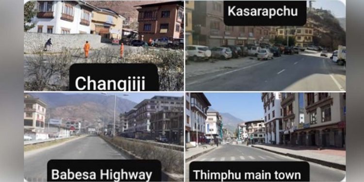 Lockdown in Bhutan