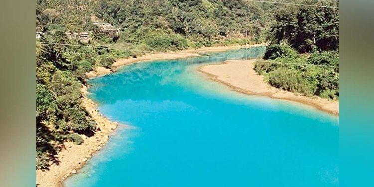 Blue Lukha-river