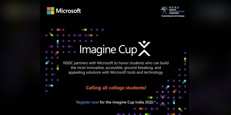 Microsoft India, National Skill Development Corporation join hands for Imagine Cup 2021 1