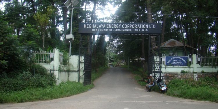 Meghalaya Energy Corporation Limited (MeECL) headquarters in Shillong.