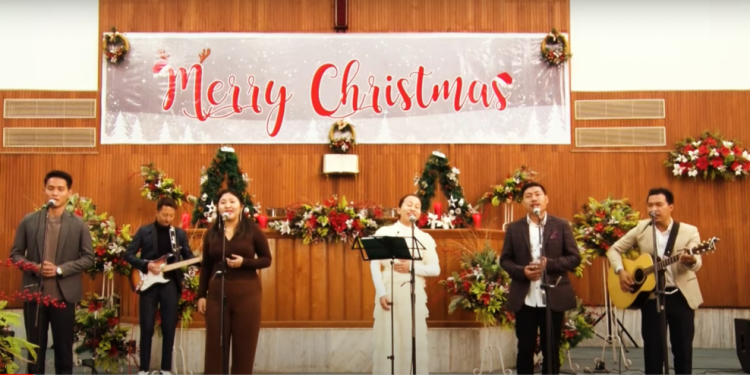 Nagaland churches hold online Christmas services 1