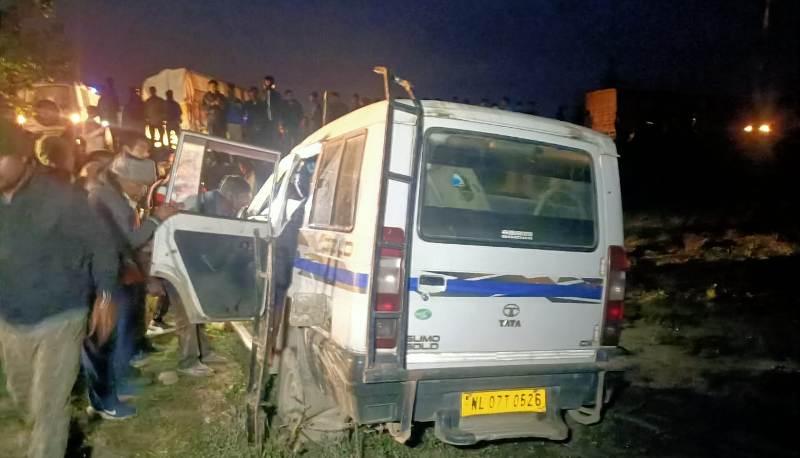 Assam: 4 of a family killed in road mishap at Bokajan 1