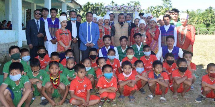 Mizoram sports minister Robert Romawia Royte