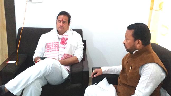 AICC secretary Vikash Upadhyaytook stock of preparations relating topoll preparedness by the party.