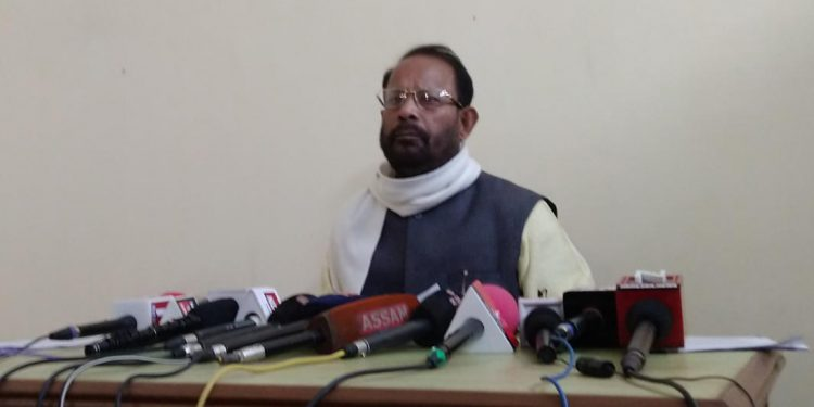Patacharkuchi MLA Pabindra Deka announced his decision of quitting AGP in a media briefing on Tuesday.