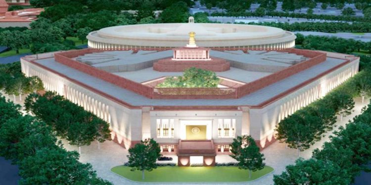 The outlook of the new Parliament building will be similar to the existing one.