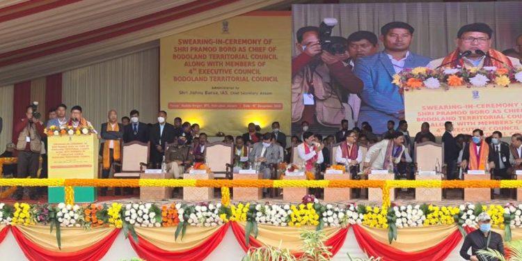 Pramod Boro's 'maiden gaffe': Himanta Biswa Sarma is Assam Chief Minister 1