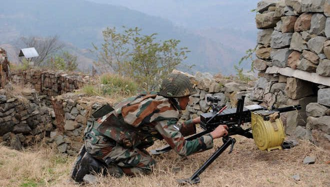 Pakistan allegedly initiated unprovoked firing and shelling targeting civilian facilities in Mankote sector of the LoC in Poonch district on Thursday.