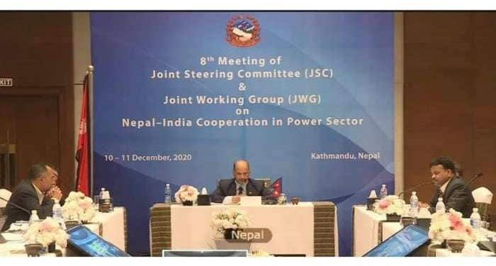 Power/energy secretaries of India and Nepal co-chaired the 8th meeting of Joint Steering Committee (JSC) on cooperation in the Power sector.