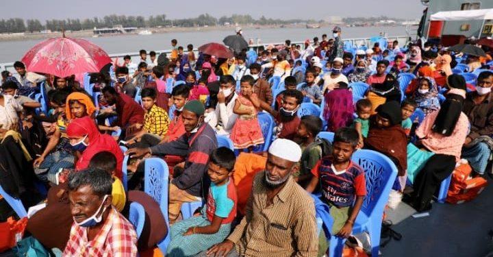 Bangladesh moves more Rohingyas to Bhasan Char 1