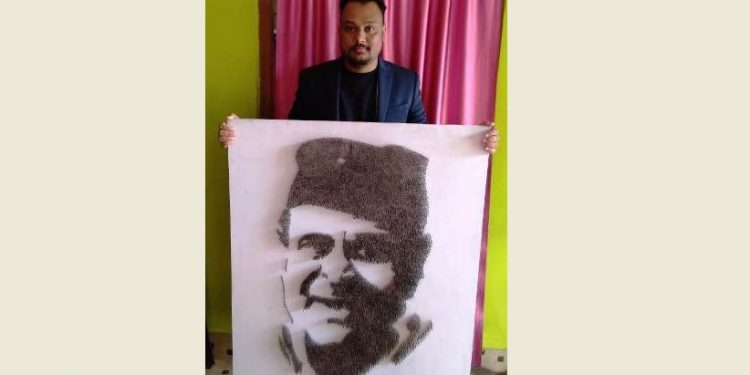 Assam: Lakhimpur artist's work finds place in International Book of Records 1