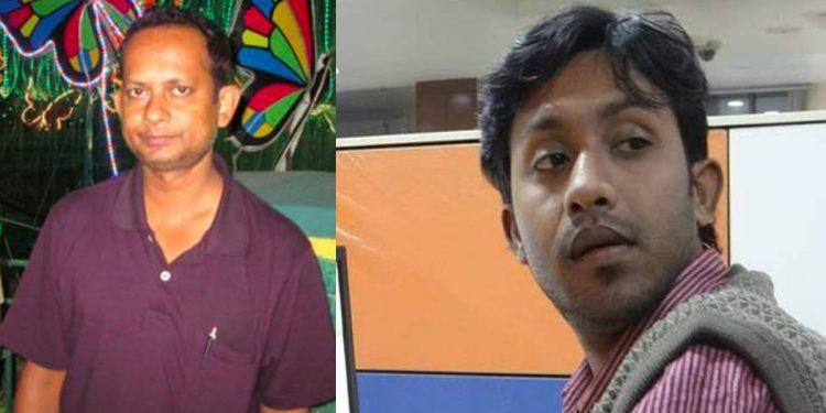 Sudip Datta Bhowmik (Left) and Santanu Bhowmik (Right).