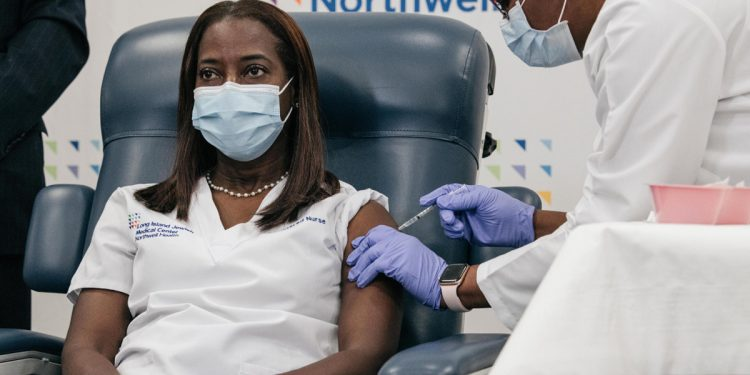 New York nurse Sandra Lindsay became the first person in the United States to be administered with the COVID-19 vaccine.