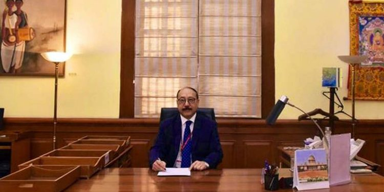 Union foreign secretary Harsh Vardhan Shringla