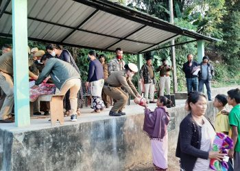 Meghalaya Police battalion reaches out to poor tribal villagers