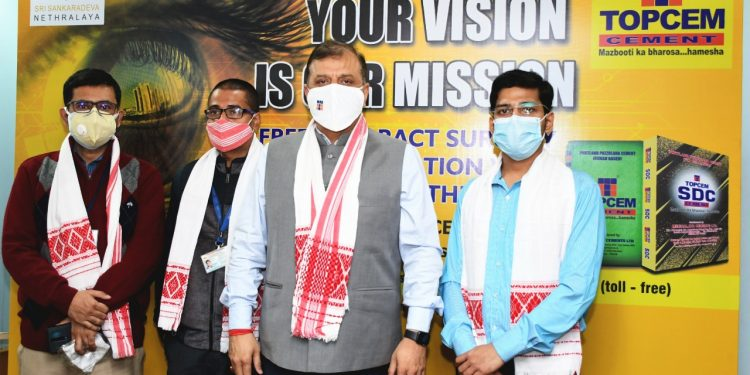 Topcem Cement organizes 4th free cataract eye surgery camp