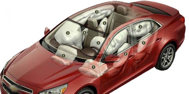airbag in car