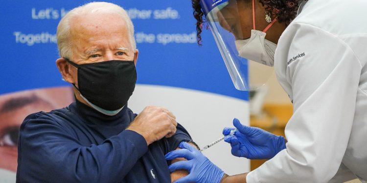 United States President-elect Joe Biden receives COVID-19 vaccine shot 1