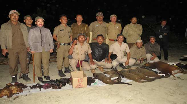 Arunachal: Animals' meat, carcasses seized in Banderdewa 1