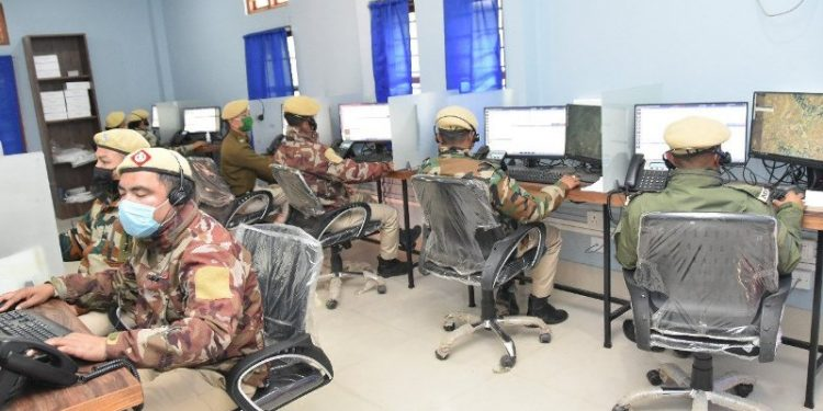 The system was launched at the Manipur Police Control Room at the 1st Battalion Manipur Rifles complex in Imphal on Saturday. Image credit: Twitter