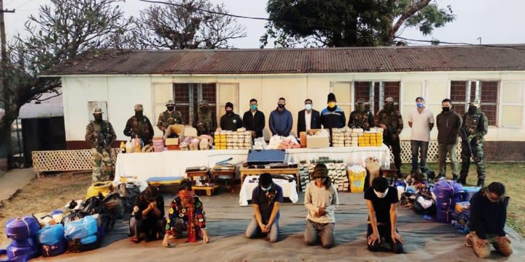 Drugs worth Rs 165 crores have been seized by security agencies in Manipur