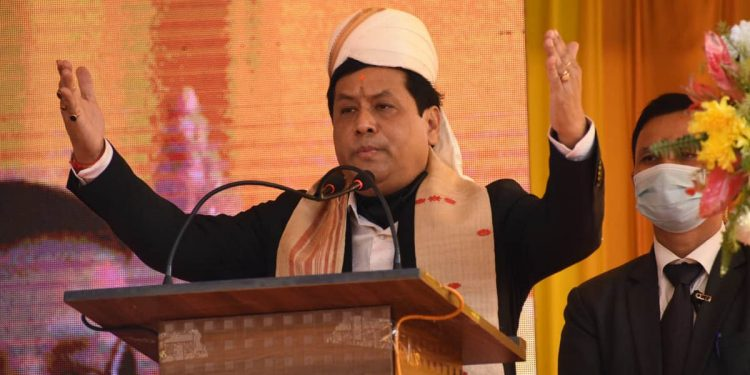 Assam CM Sarbananda Sonowal